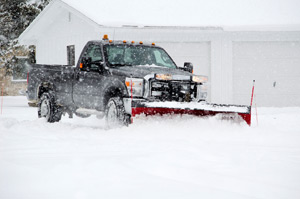 snow plowing and removal